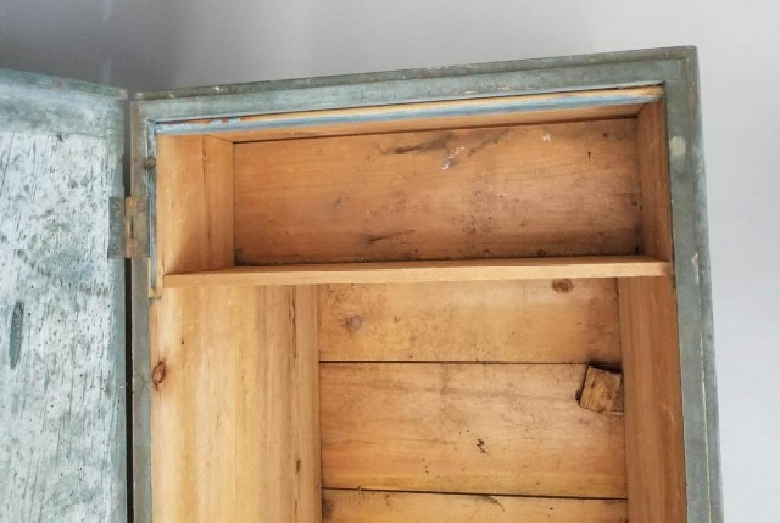 Antique 19th C American Orig Paint Blanket Chest - 5