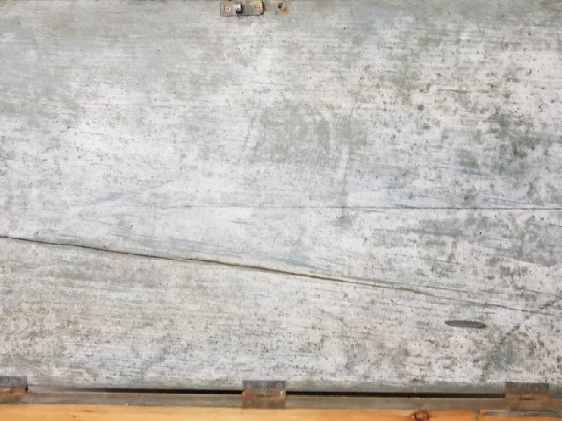 Antique 19th C American Orig Paint Blanket Chest - 7