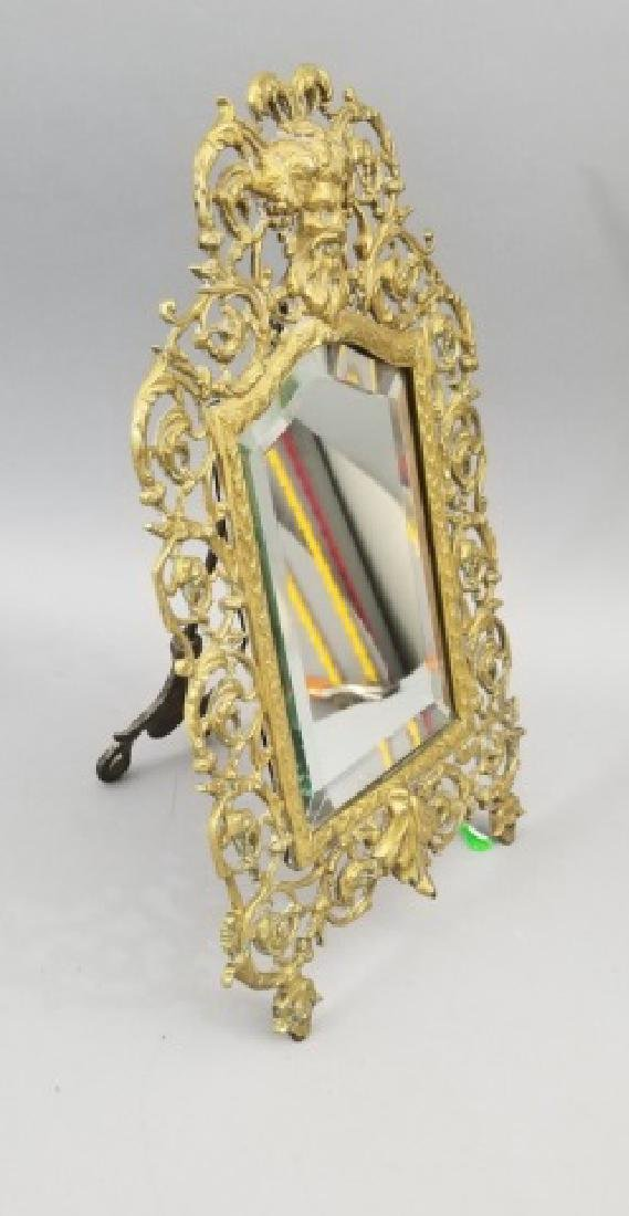 Antique Ormolu Renaissance Revival Bacchus Mirror