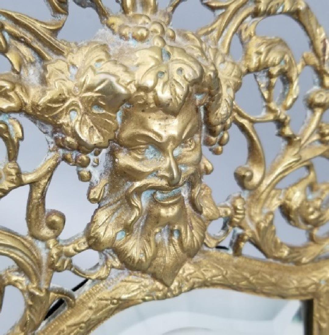 Antique Ormolu Renaissance Revival Bacchus Mirror - 6