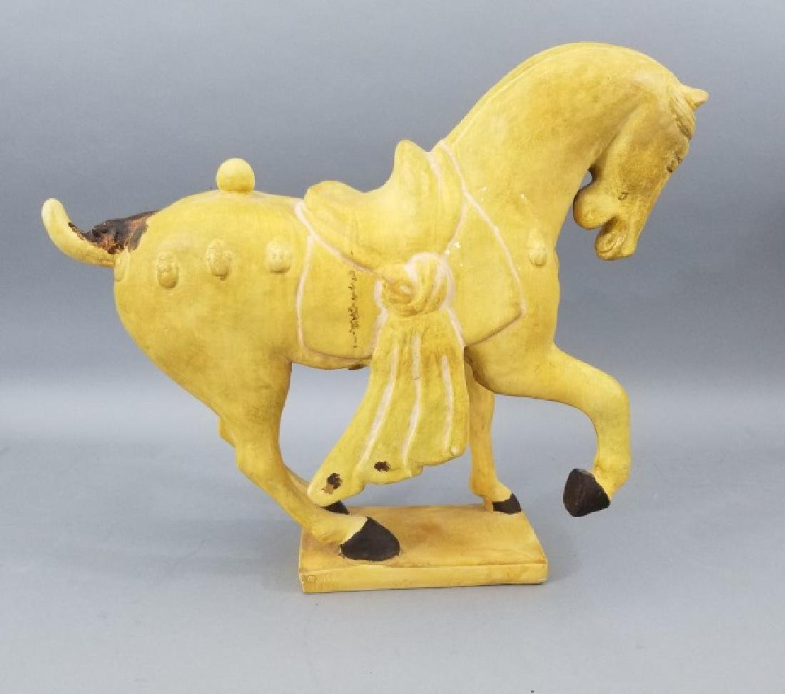 Chinese Tang Dynasty Style Table Statue of a Horse