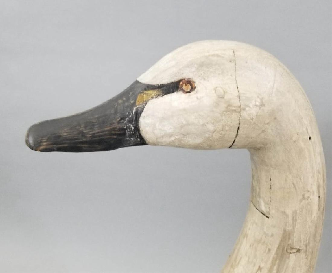 Hand Carved Painted Wooden Swan Decoy PDF - 3