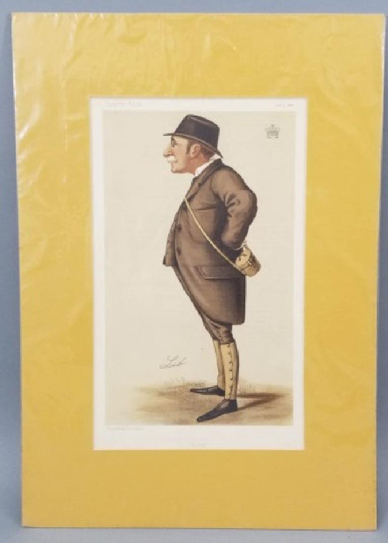 4 19thC Orig Lithos Vanity Fair -Statesmen & Men - 2