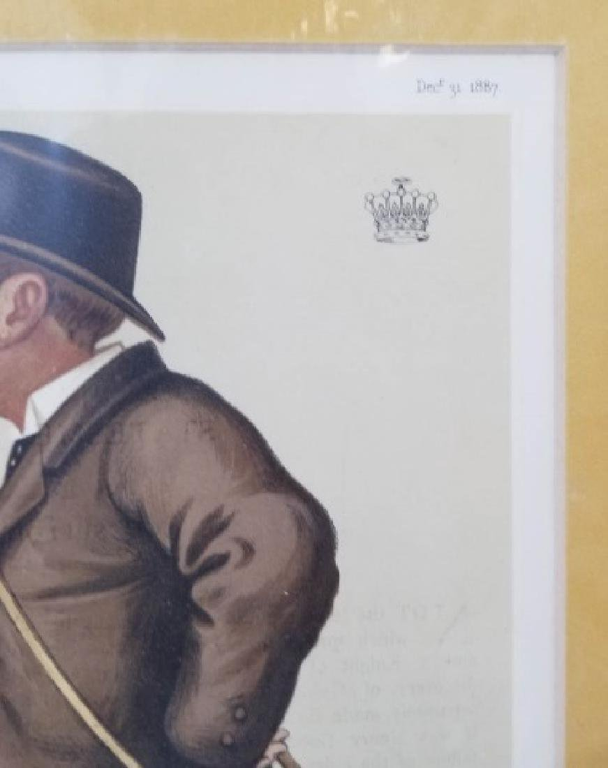 4 19thC Orig Lithos Vanity Fair -Statesmen & Men - 3