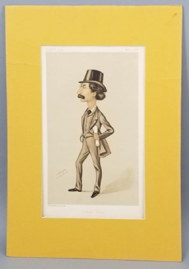 4 19thC Orig Lithos Vanity Fair -Statesmen & Men - 4