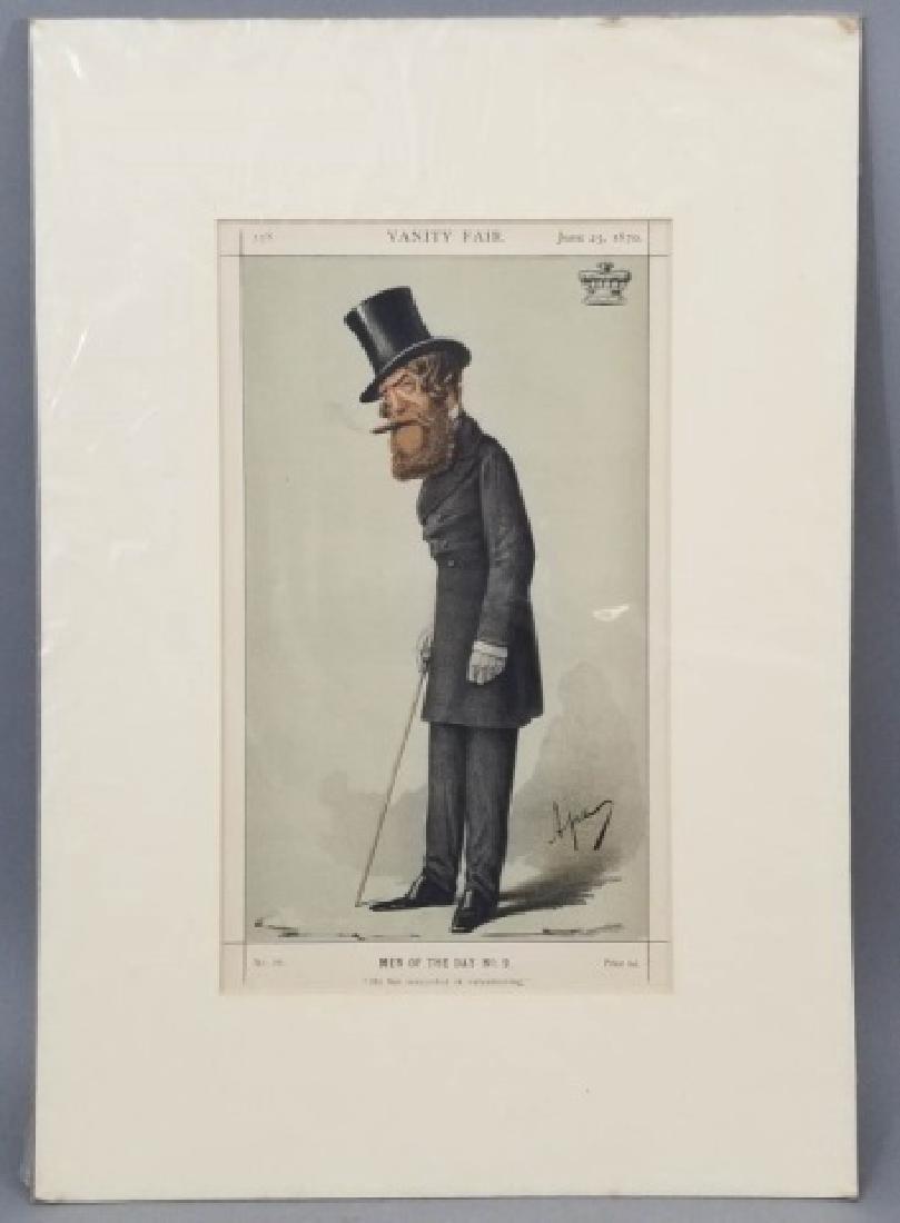 4 19thC Orig Lithos Vanity Fair -Statesmen & Men - 6