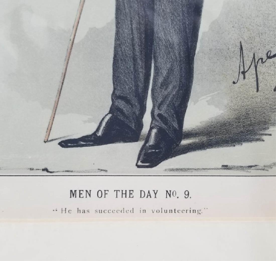 4 19thC Orig Lithos Vanity Fair -Statesmen & Men - 7