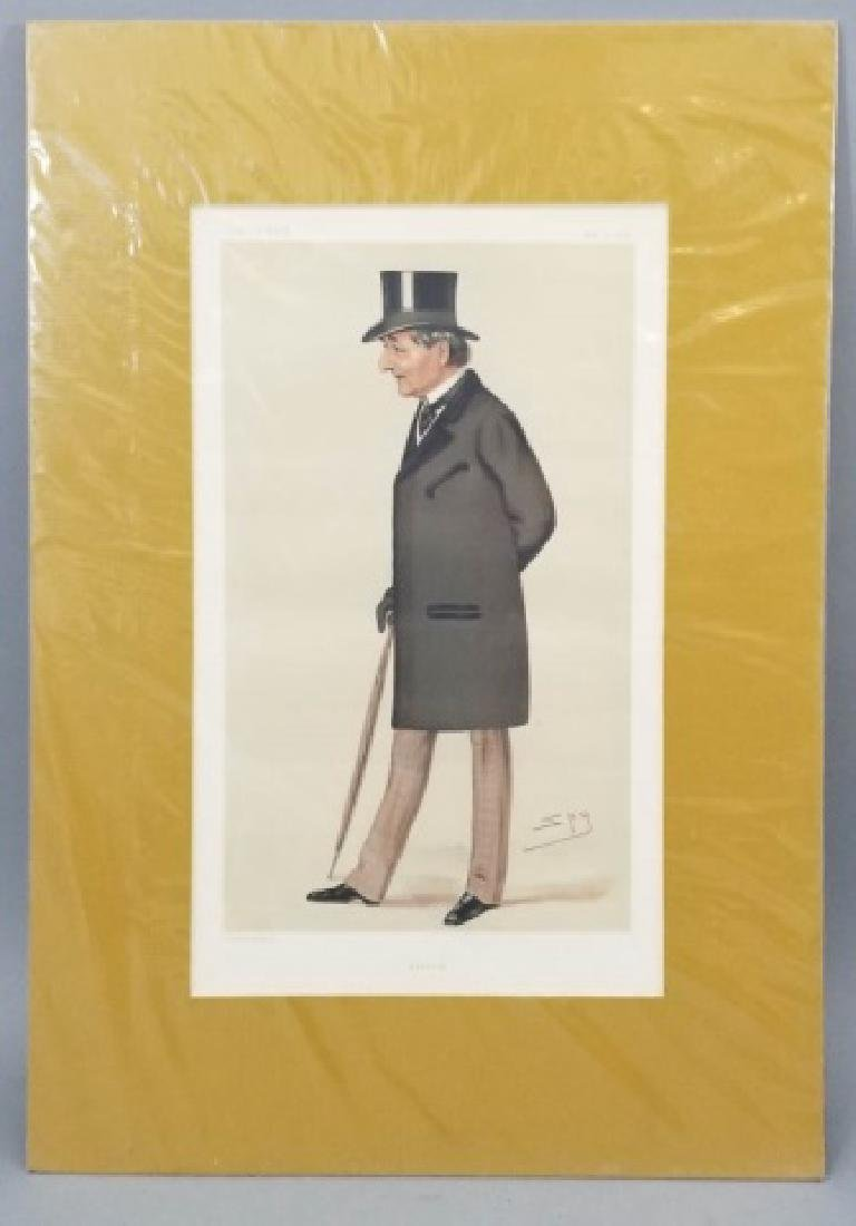 4 19thC Orig Lithos Vanity Fair -Statesmen & Men - 8