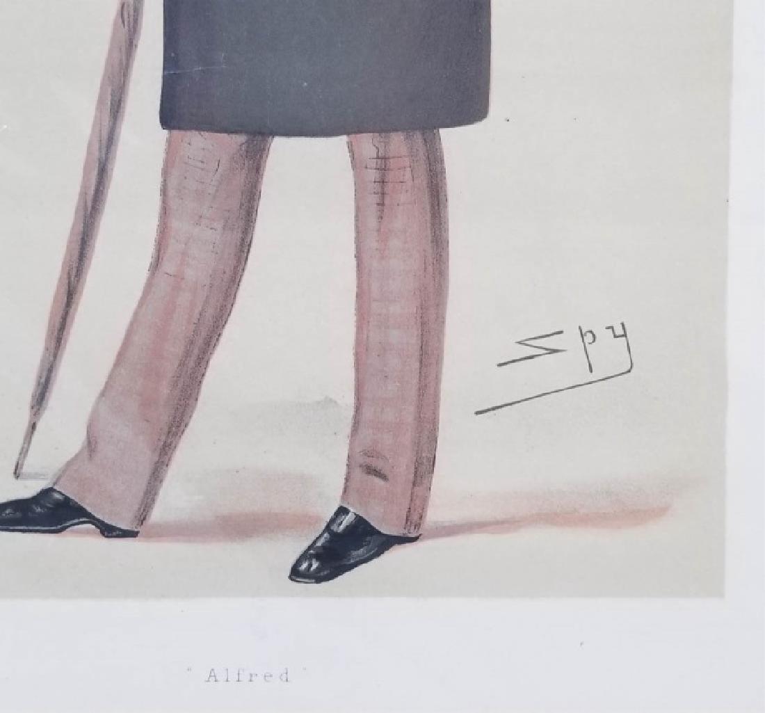 4 19thC Orig Lithos Vanity Fair -Statesmen & Men - 9