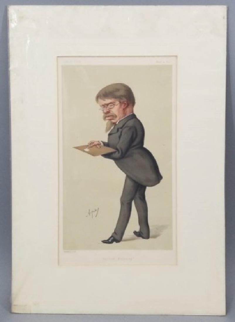 4 19thC Orig Lithos Vanity Fair - Men of the Day - 2