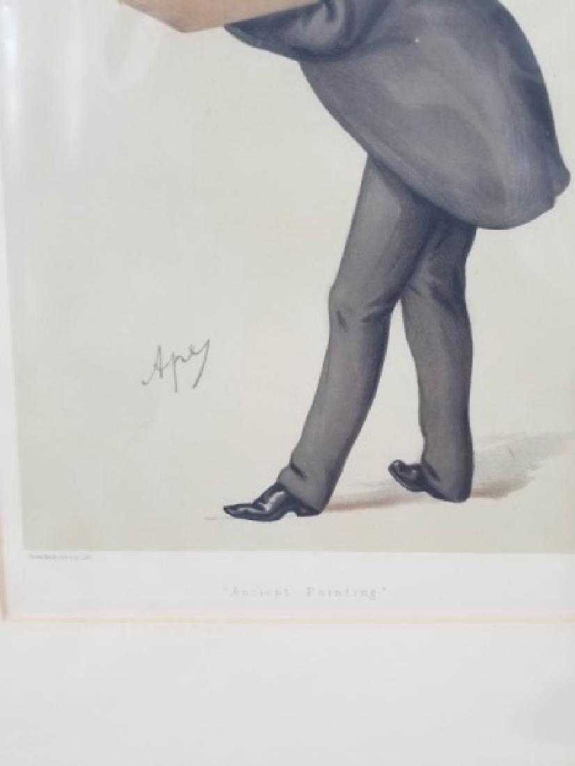 4 19thC Orig Lithos Vanity Fair - Men of the Day - 3