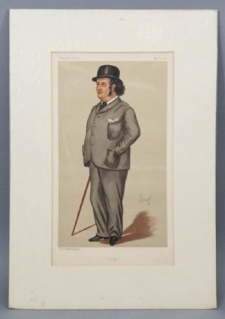 4 19thC Orig Lithos Vanity Fair - Men of the Day - 6