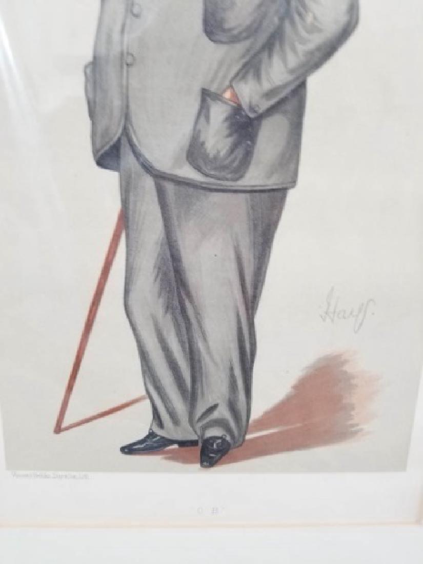 4 19thC Orig Lithos Vanity Fair - Men of the Day - 7