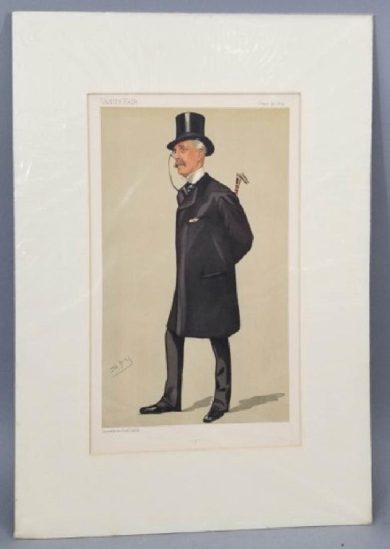 4 19thC Orig Lithos Vanity Fair - Men of the Day - 8