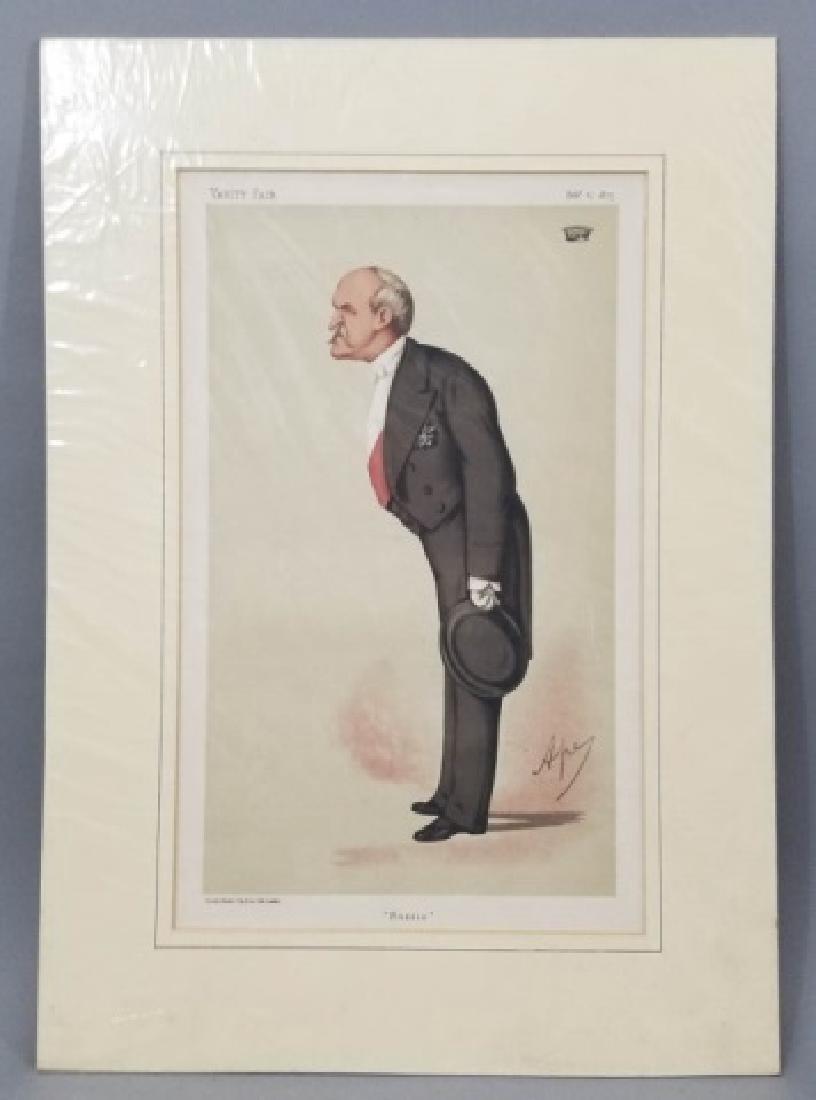 4 19thC Orig Lithos Vanity Fair - Men of the Day - 4