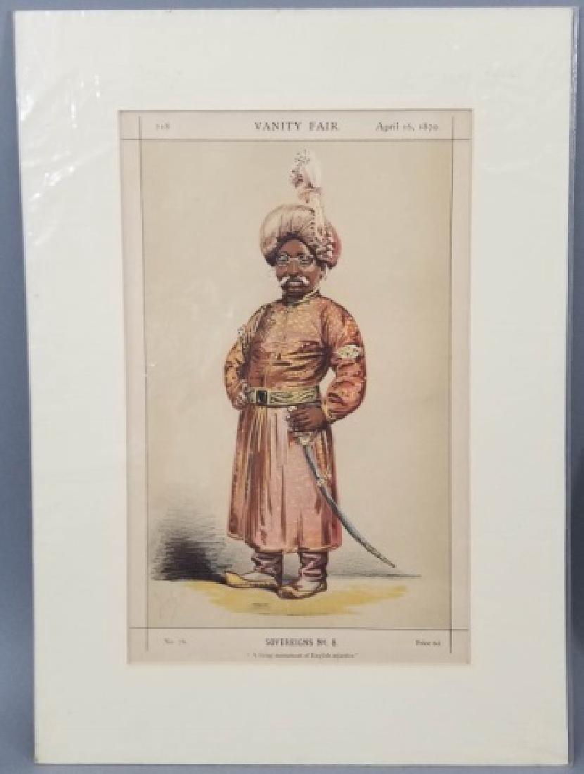 4 19thC Orig Lithos Vanity Fair - Men of the Day - 5