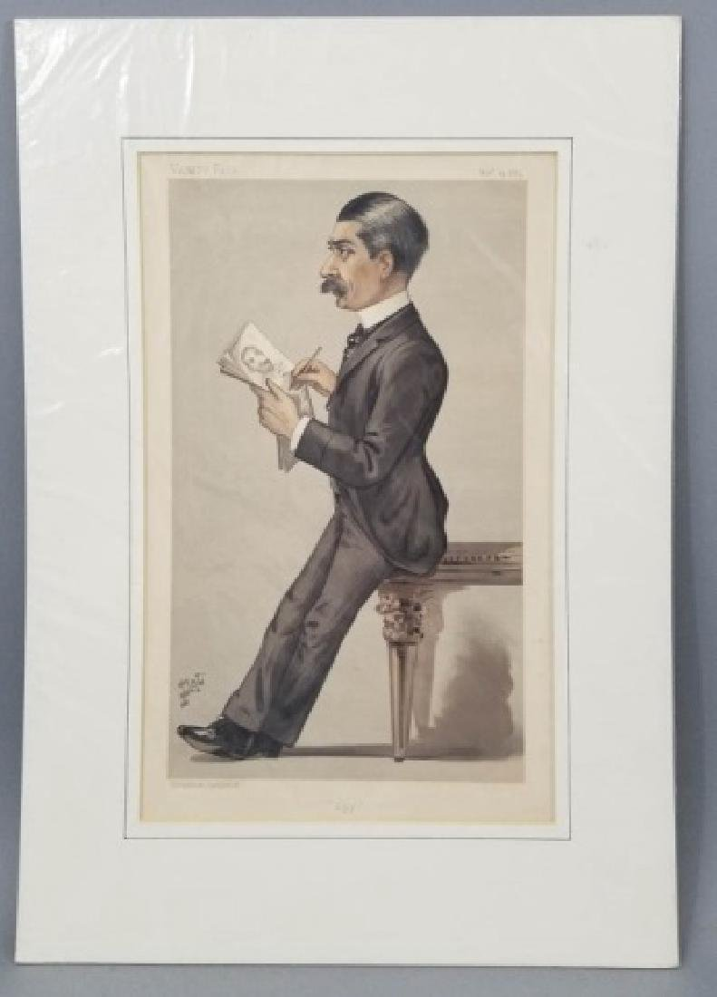 4 19thC Orig Lithos Vanity Fair - Men of the Day - 4