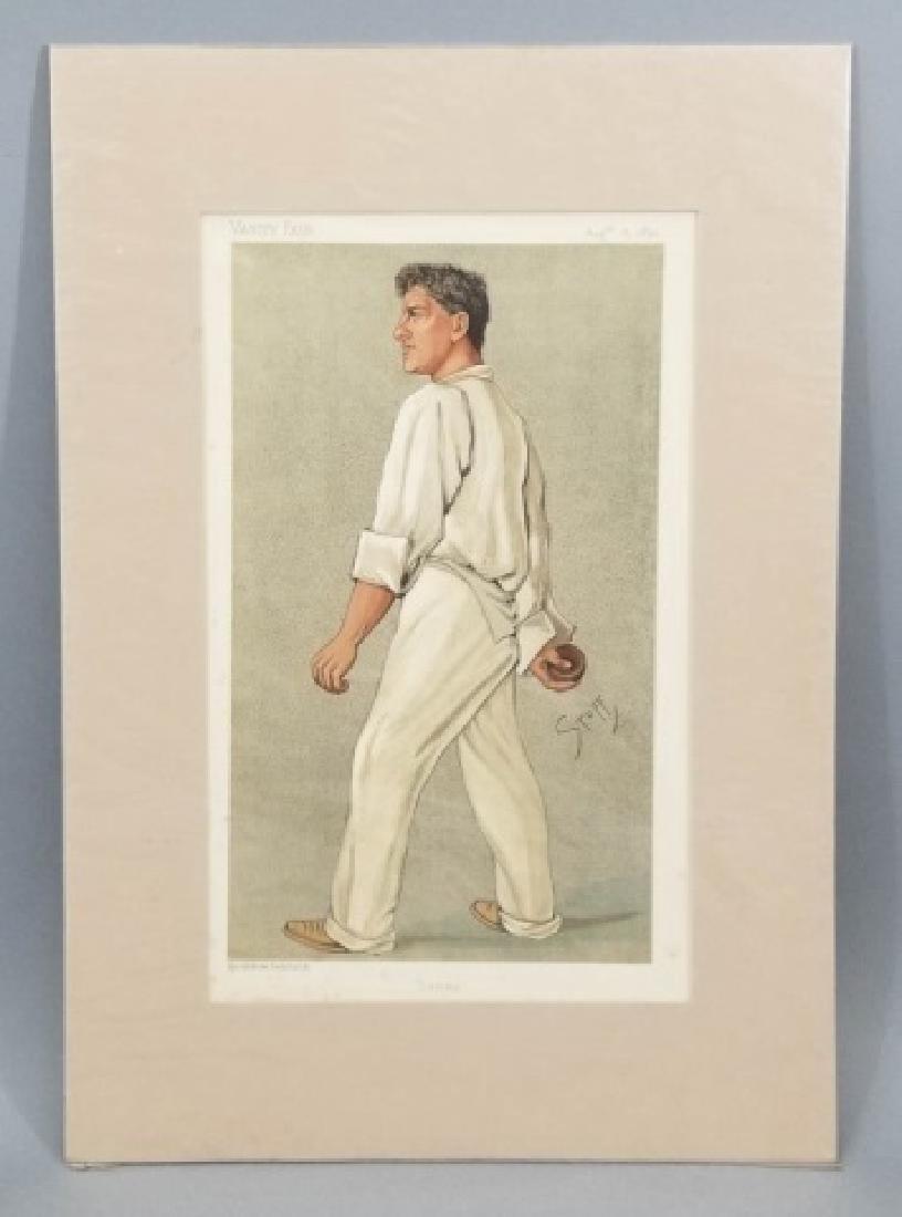 4 19thC Original Lithographs Vanity Fair - Sport - 3