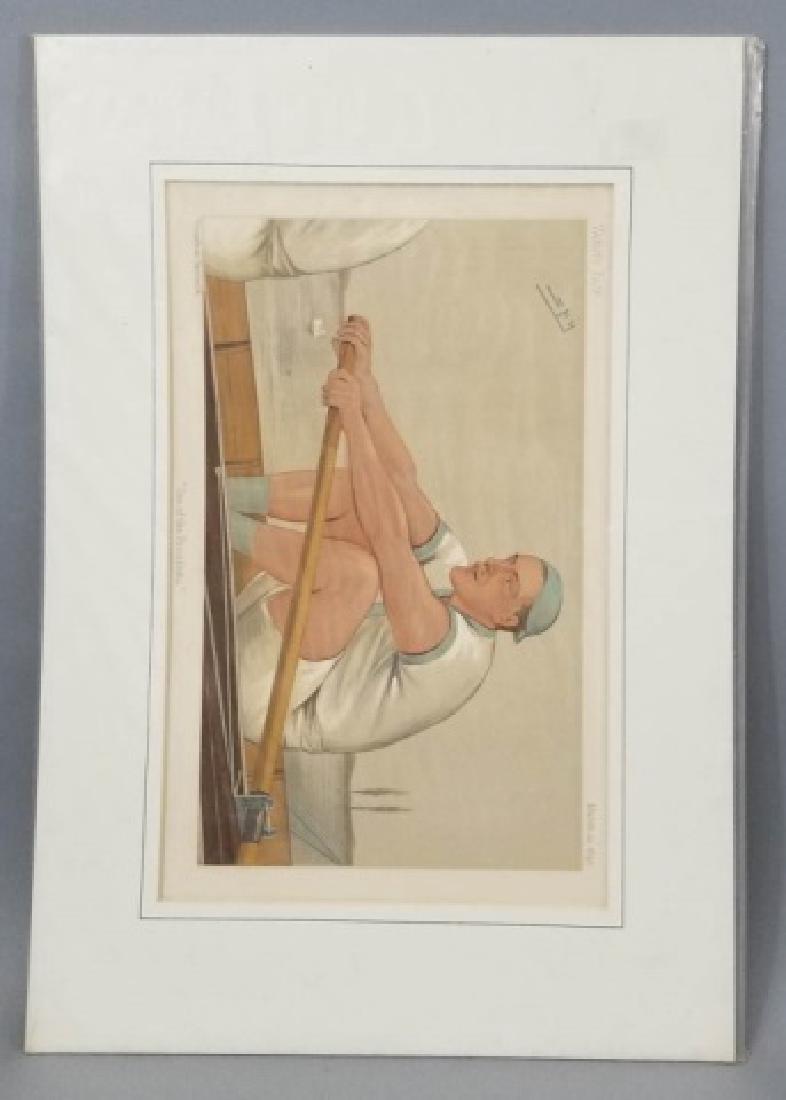 4 19thC Original Lithographs Vanity Fair - Sport - 4
