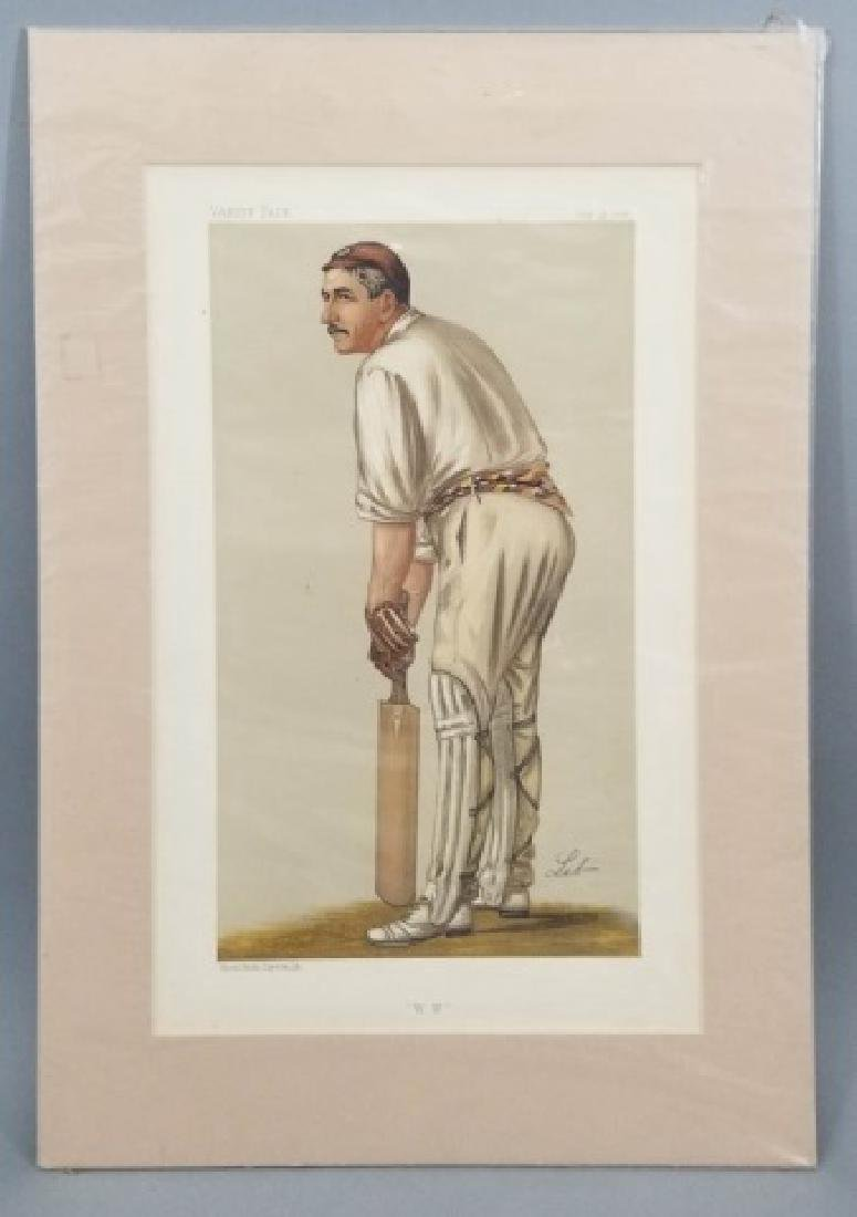 4 19thC Original Lithographs Vanity Fair - Sport - 7