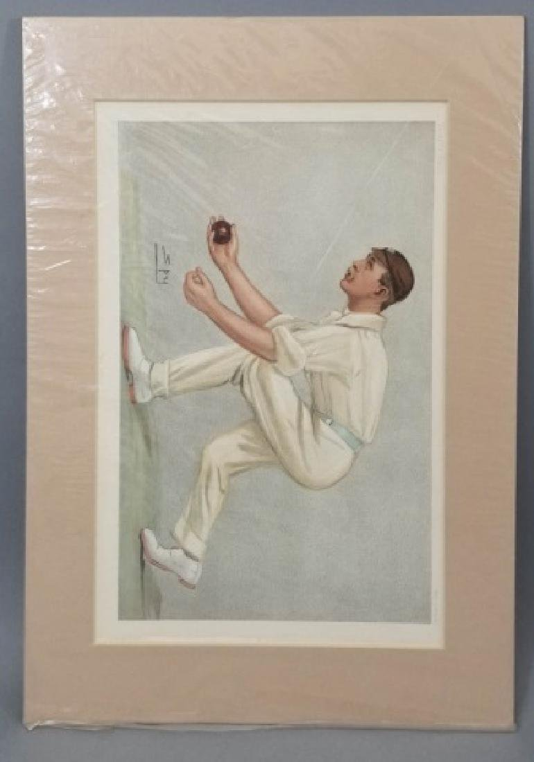 4 19thC Original Lithographs Vanity Fair - Sport - 8