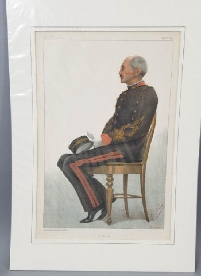 4 19thC Orig Lithos Vanity Fair - Men of the Day - 8