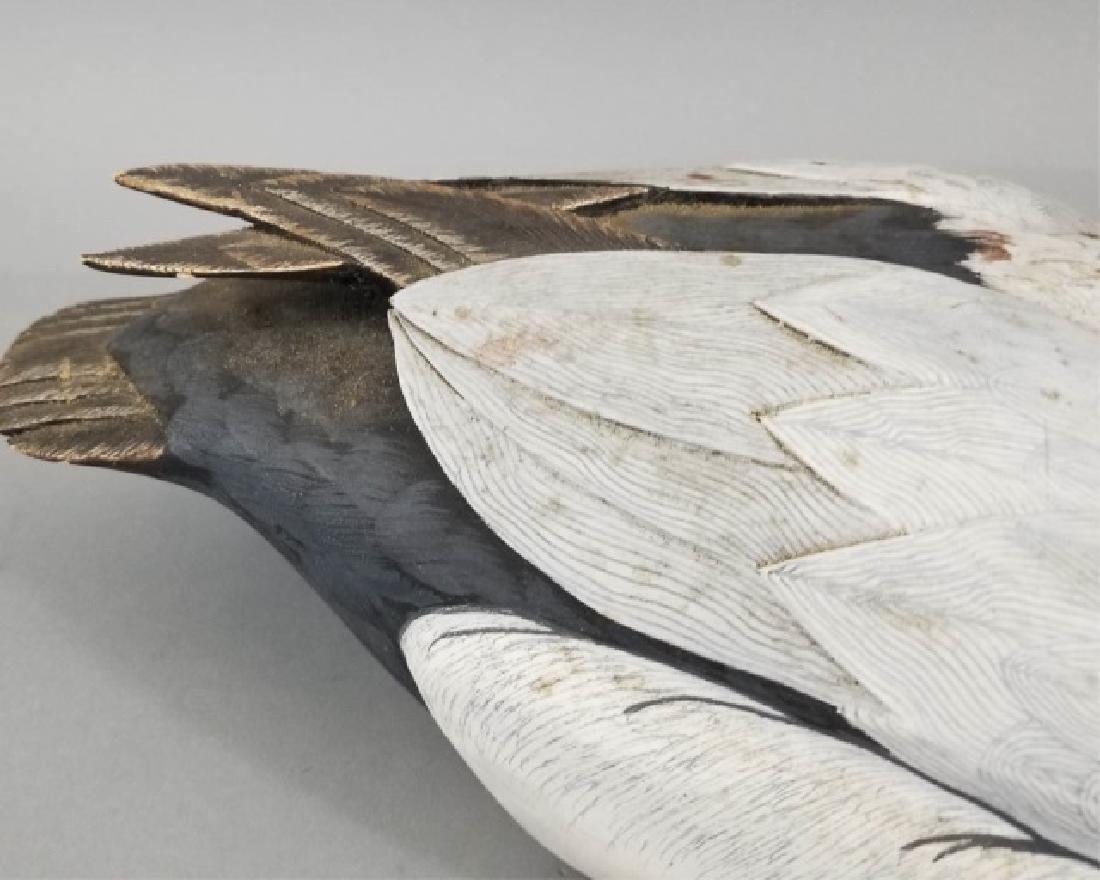 Handmade & Hand Painted Ferguson Duck Decoy - 4