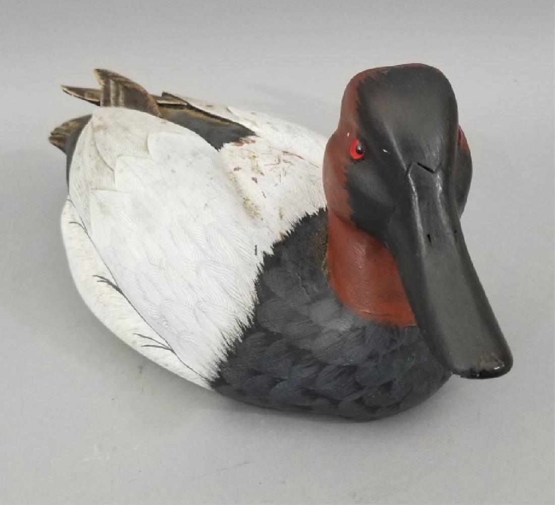 Handmade & Hand Painted Ferguson Duck Decoy - 5