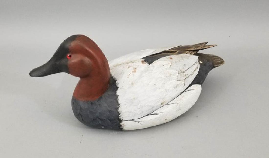 Handmade & Hand Painted Ferguson Duck Decoy - 7