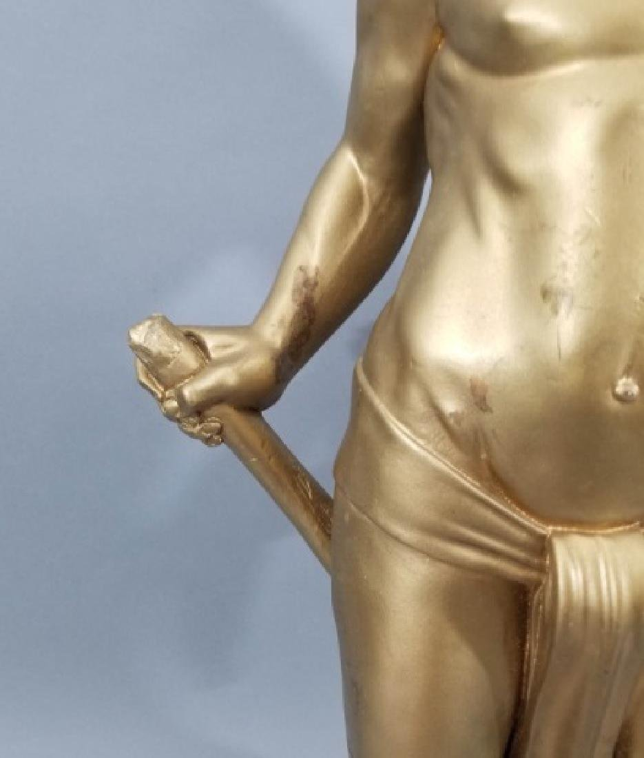 Hollywood Regency Blackamoor Style Large Statue - 5