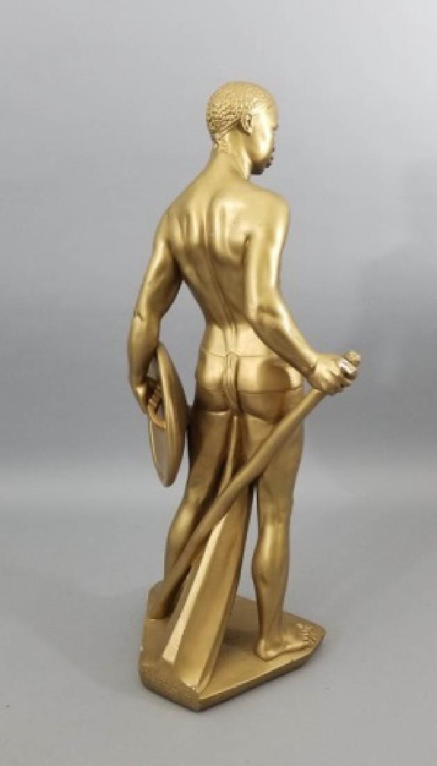 Hollywood Regency Blackamoor Style Large Statue - 9