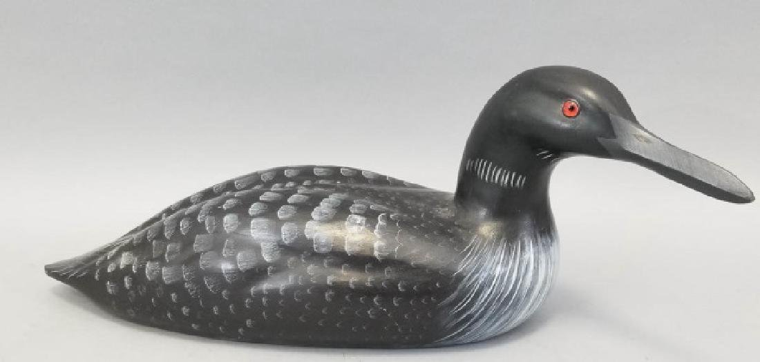 Vintage Signed G.E.D. Handmade Hand Painted Decoy