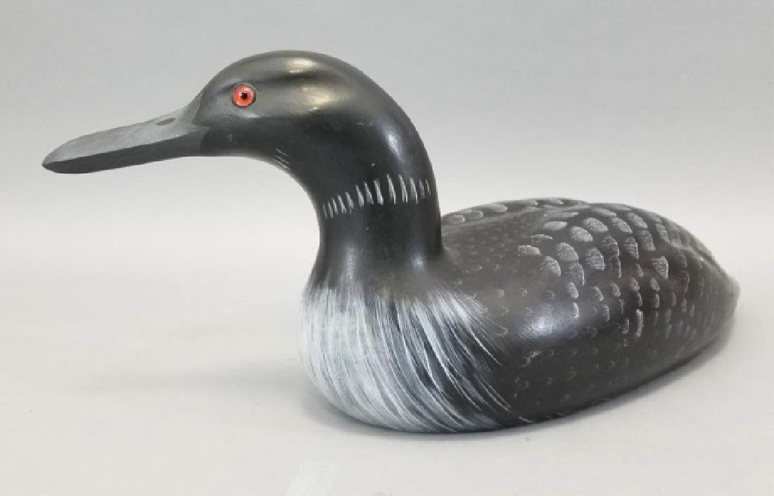 Vintage Signed G.E.D. Handmade Hand Painted Decoy - 7