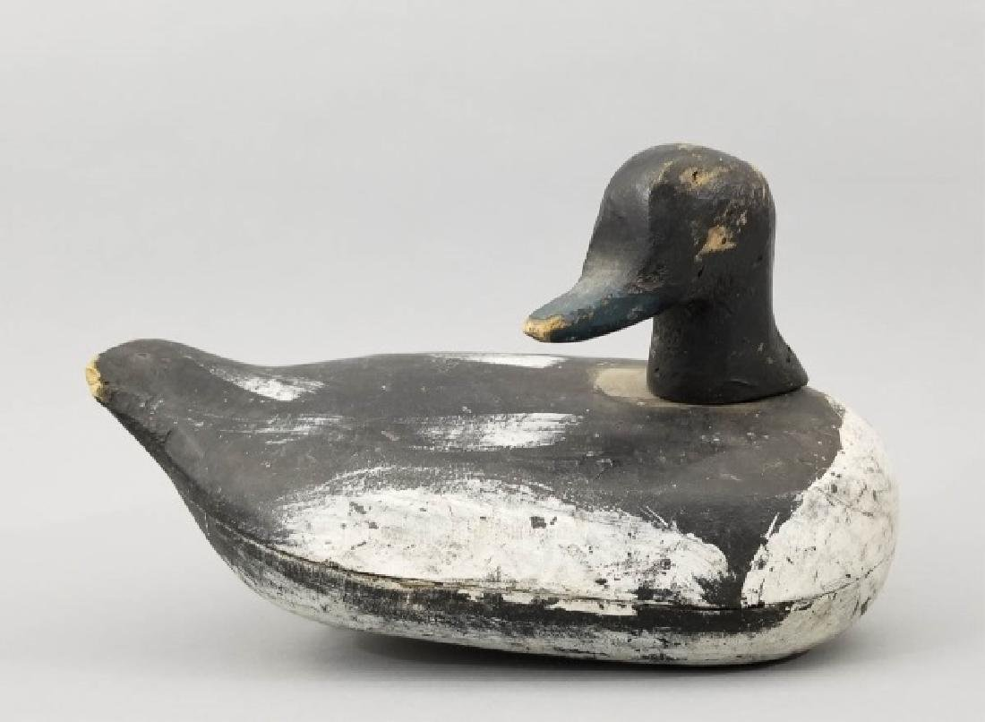 Vintage Hand Carved & Hand Painted Duck Decoy