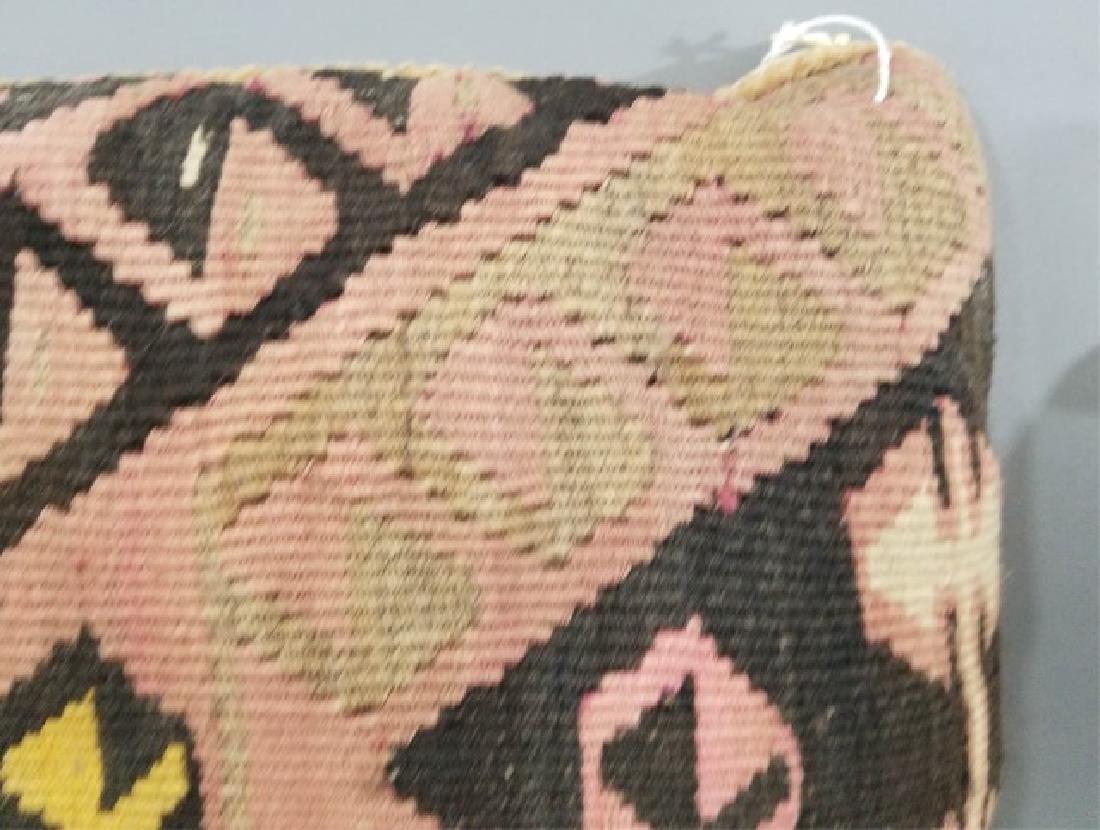 Pair Custom Made Oriental Carpet Tapestry Pillows - 7