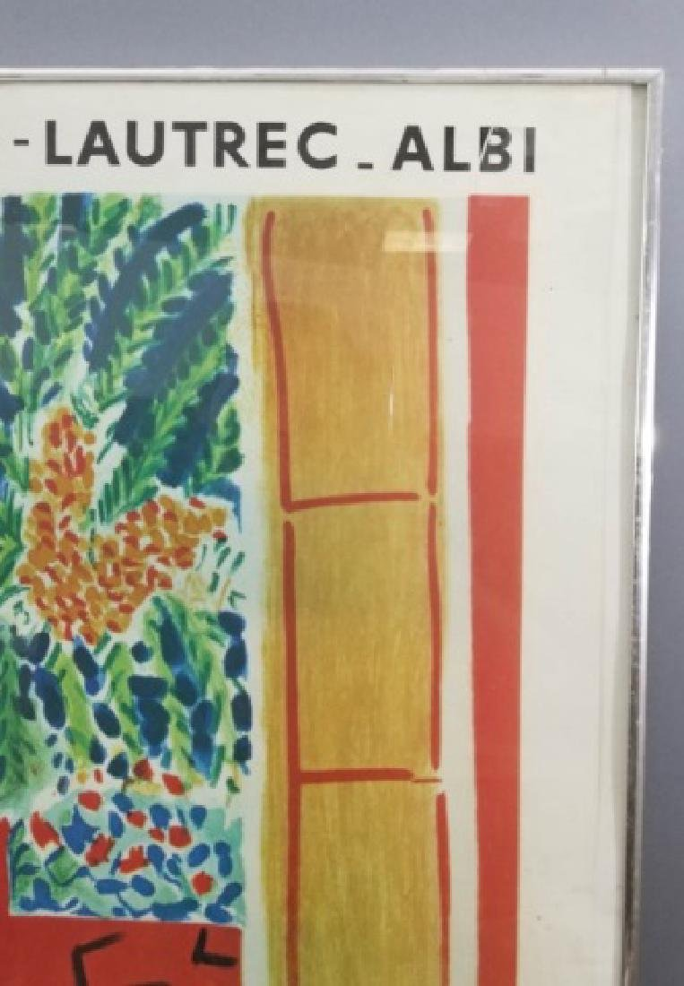 Framed Musee Toulouse Lautrec Poster C. 1961 - 7