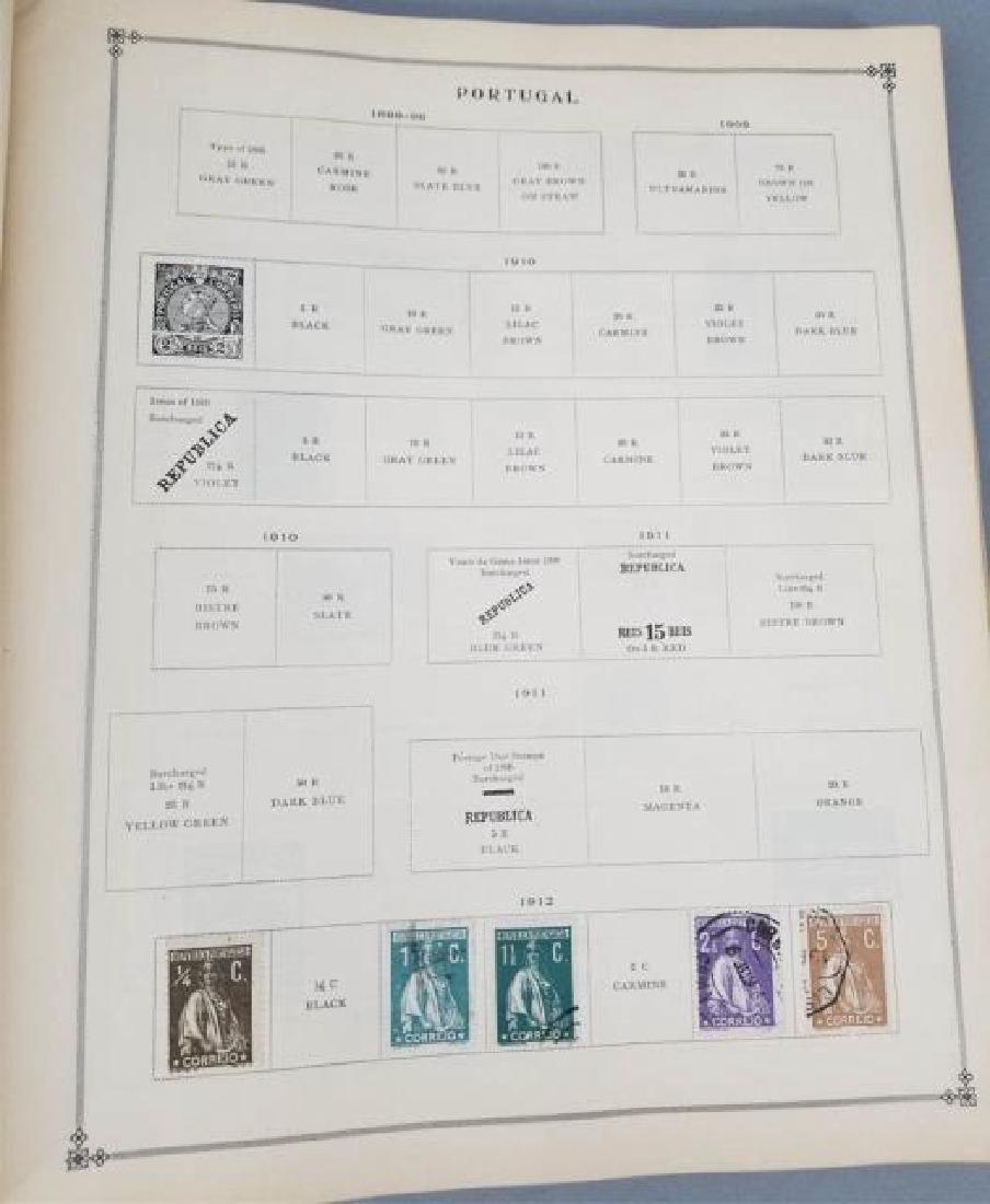 Antique Book - International Postage Stamp Album - 10