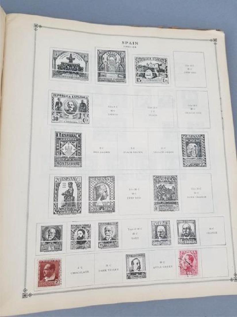 Antique Book - International Postage Stamp Album - 2