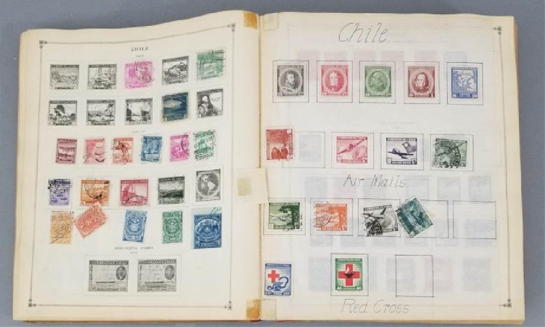 Antique Book - International Postage Stamp Album - 4