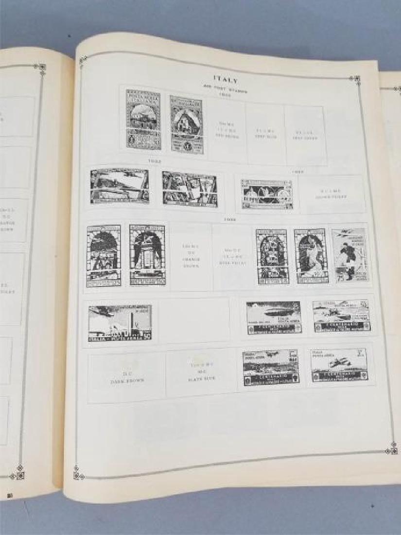Antique Book - International Postage Stamp Album - 7