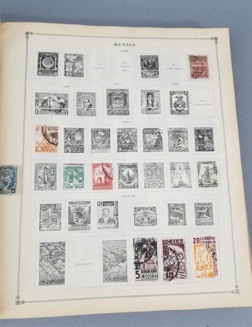Antique Book - International Postage Stamp Album - 8