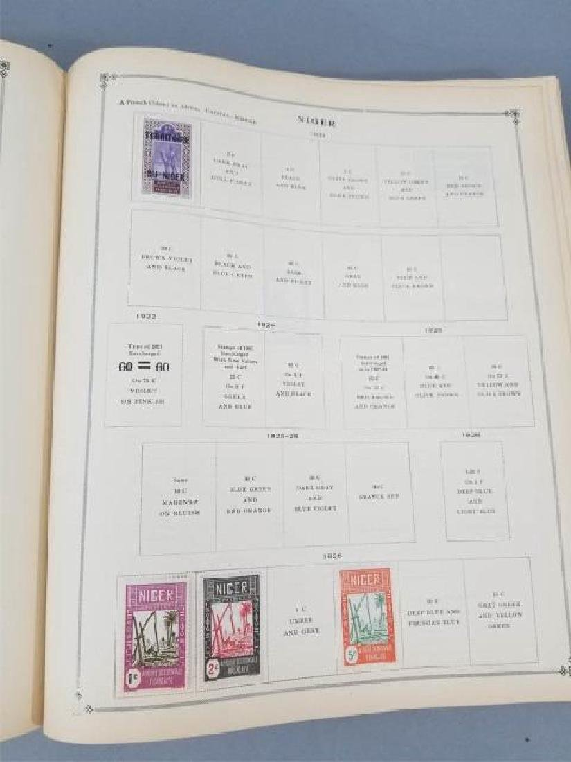 Antique Book - International Postage Stamp Album - 9