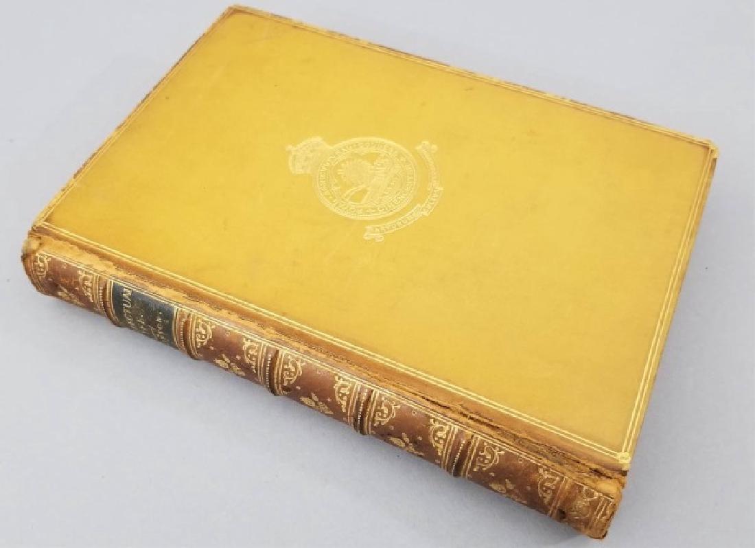"""The Intellectual Life"" Book w Da Vinci Engraving - 2"
