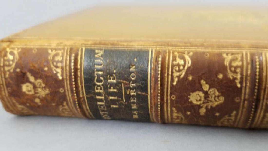 """The Intellectual Life"" Book w Da Vinci Engraving - 6"