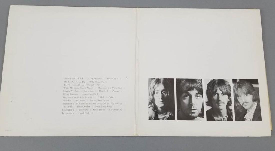 4 Early Pressing Beatles LPs Incld Double Albums - 4