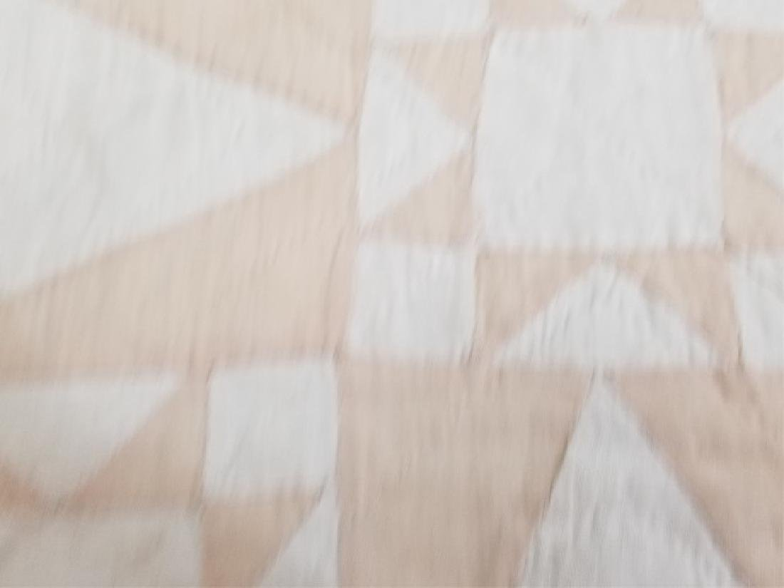 Antique American Hand Sewn Patchwork Quilt 2 of 3 - 5