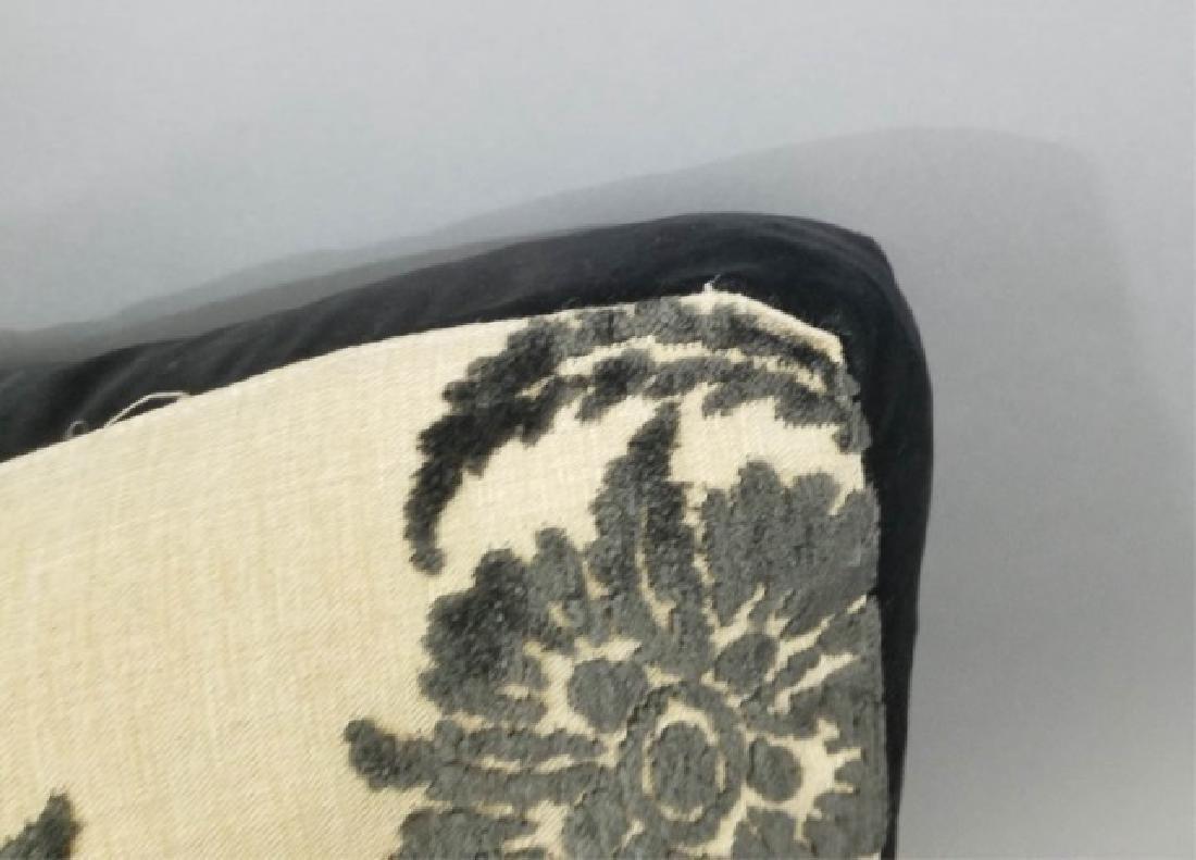 5 Designer's Guild of London Cut Velvet Pillows - 2