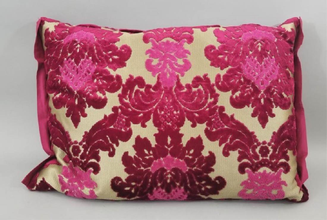 5 Designer's Guild of London Cut Velvet Pillows - 3