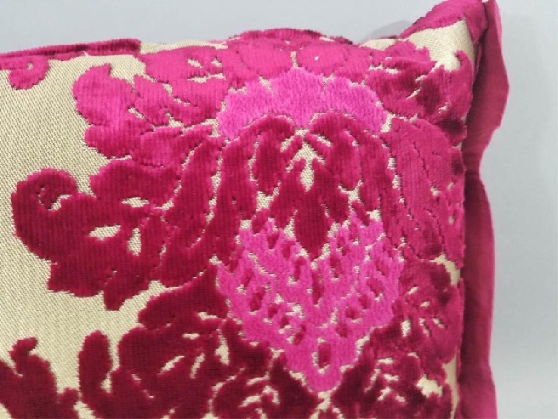 5 Designer's Guild of London Cut Velvet Pillows - 4