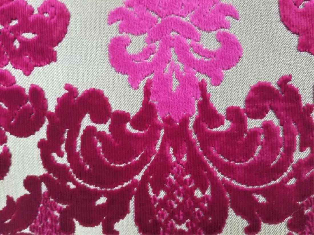 5 Designer's Guild of London Cut Velvet Pillows - 5